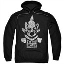 Killer Klowns From Outer Space Hoodie Kreepy Black Sweatshirt Hoody