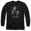 Killer Klowns From Outer Space Long Sleeve Shirt Killer Klowns Black Tee T-Shirt