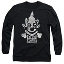 Killer Klowns From Outer Space Long Sleeve Shirt Kreepy Black Tee T-Shirt
