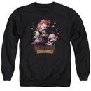 Killer Klowns From Outer Space Sweatshirt Killer Klowns Adult Black Sweat Shirt