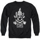 Killer Klowns From Outer Space Sweatshirt Kreepy Adult Black Sweat Shirt