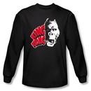 King Kong Long Sleeve T-Shirt Warner Bros Movie Kong Head Black Shirt