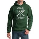 King Of The Grill Hoodie Sweatshirt Barbecue Utensils Adult Hoody