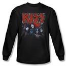 Kiss Shirt Rock Band Kings Long Sleeve Black Tee T-Shirt