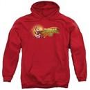 Kung Fu Panda 3 Hoodie Po Logo Red Sweatshirt Hoody