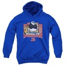 Kung Fu Panda 3 Kids Hoodie Kung Furry Royal Blue Youth Hoody