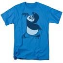 Kung Fu Panda 3 Shirt Fighting Stance Turquoise T-Shirt