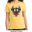 Ladies Biker Shirt Prayer Warrior Tee T-Shirt