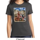 Ladies Biker Shirt Sturgis Indian Tee T-Shirt