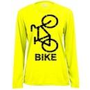 Ladies Moisture Wicking Long Sleeve Cycle Shirt