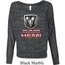 Ladies Dodge Shirt Ram Hemi Logo Off Shoulder Tee T-Shirt