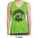 Ladies Dodge Shirt Super Bee Sleeveless Moisture Wicking Tee T-Shirt