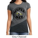 Ladies Dodge Shirt Super Bee Tri Blend Crewneck Tee T-Shirt