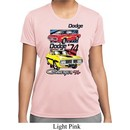Ladies Dodge Shirt Vintage Chargers Moisture Wicking Tee T-Shirt