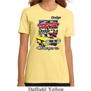 Ladies Dodge Shirt Vintage Chargers Organic Tee T-Shirt