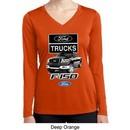 Ladies Ford Shirt F-150 Truck Dry Wicking Long Sleeve Shirt