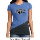 Ladies Funny Shirt More Cowbell Tri Blend Crewneck Tee T-Shirt