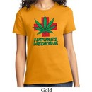 Ladies Funny Shirt Natures Medicine Tee T-Shirt