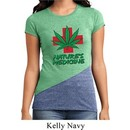 Ladies Funny Shirt Natures Medicine Tri Blend Crewneck Tee T-Shirt