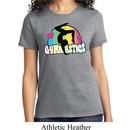 Ladies Gymnast Shirt Neon Gymnastics Tee T-Shirt