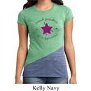 Ladies Gymnastics Shirt Proud Grandma Tri Blend Crewneck Tee T-Shirt