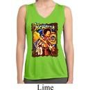 Ladies Jimi Hendrix Colorful Sleeveless Moisture Wicking Tee T-Shirt