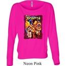 Ladies Jimi Hendrix Shirt Hendrix Colorful Off Shoulder Tee T-Shirt