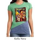 Ladies Jimi Hendrix Shirt Hendrix Colorful Tri Blend Crewneck Tee
