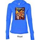 Ladies Jimi Hendrix Shirt Hendrix Colorful Tri Blend Hoodie T-Shirt