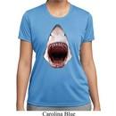 Ladies Shark Shirt 3D Shark Moisture Wicking Tee T-Shirt