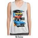 Ladies Shirt Challenger Trio Sleeveless Moisture Wicking Tee T-Shirt