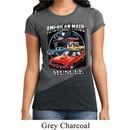 Ladies Shirt Chrysler American Made Tri Blend Crewneck Tee