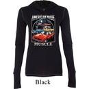 Ladies Shirt Chrysler American Made Tri Blend Hoodie Tee