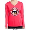 Ladies Shirt Dodge Scat Pack Club Dry Wicking Long Sleeve Tee T-Shirt
