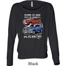 Ladies Shirt Guts and Glory Ram Trucks Off Shoulder Tee T-Shirt