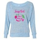 Ladies Shirt Jersey Girls Don?t Pump Gas Off Shoulder Tee T-Shirt