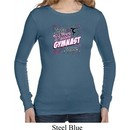 Ladies Shirt Miss Gymnast To You Long Sleeve Thermal Tee T-Shirt