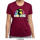 Ladies Shirt Neon Gymnastics Moisture Wicking Tee T-Shirt