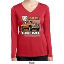 Ladies Shirt Ram Hemi Trucks Dry Wicking Long Sleeve Tee T-Shirt