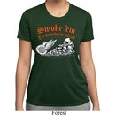 Ladies Shirt Smoke Em Moisture Wicking Tee T-Shirt