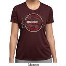 Ladies Shirt Vintage Dodge Sign Moisture Wicking Tee T-Shirt