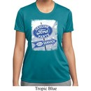 Ladies Shirt Vintage Sign Genuine Ford Parts Moisture Wicking Tee