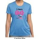 Ladies Shirt Yes, They're Fake Moisture Wicking Tee T-Shirt