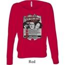 Ladies Three Stooges Shirt Nyukleheads Garage Off Shoulder Tee T-Shirt