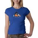 Ladies Yoga Shirt Copy Cat Crewneck Tee T-Shirt