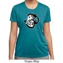 Ladies Yoga Shirt Om Mashup Moisture Wicking Tee T-Shirt