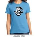 Ladies Yoga Shirt Om Mashup Tee T-Shirt