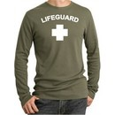 Lifeguard T-shirt Thermal Long Sleeve Adult Shirt