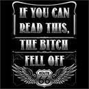 Bitch Fell Off Biker T-shirt