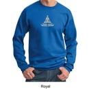 Mens Yoga Sweatshirt? Lotus Pose Meditation Sweat Shirt